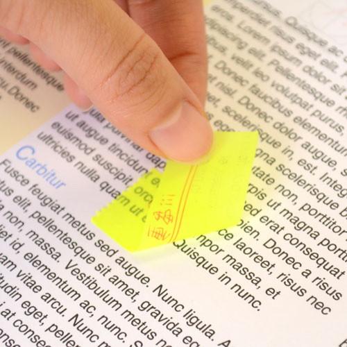 貼り付け先に傷をつけず、剥がすと書類が元通り画像